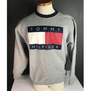 VTG Tommy Hilfiger Jeans Unisex Flag Logo Crewneck